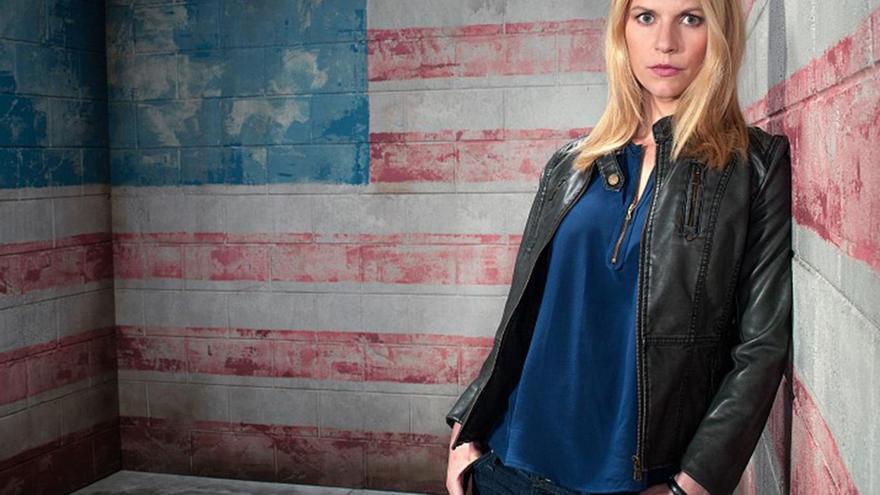 Claire Danes en 'Homeland'