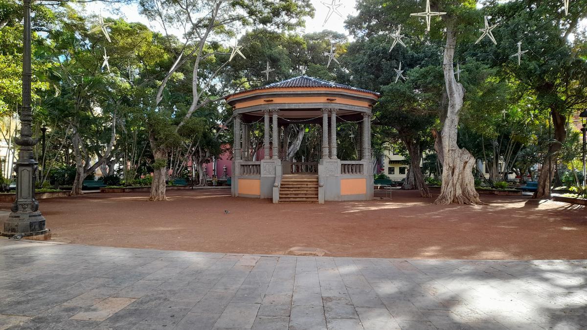 Plaza del Príncipe, en el centro de la capital tinerfeña