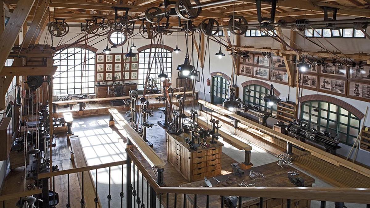 El Museo Máquina Herramienta de Elgoibar