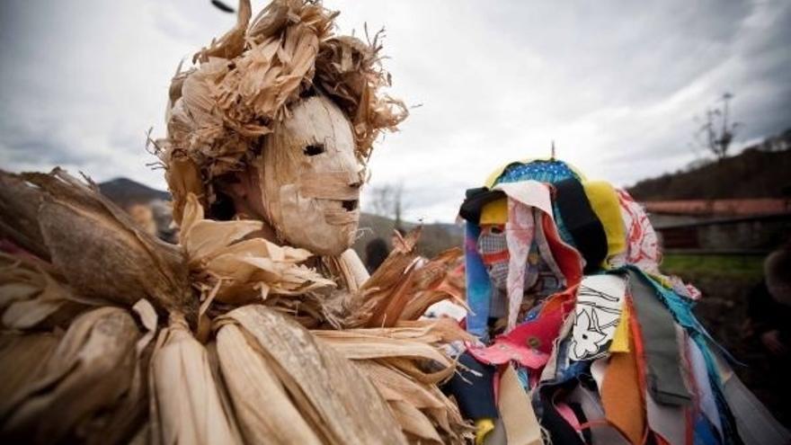 Comienza la tramitación para declarar BIC inmaterial a las mascaradas rurales de invierno