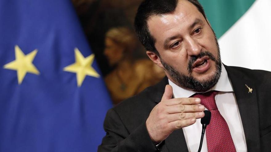 La justicia italiana pide procesar a Salvini por secuestro en el caso de los inmigrantes