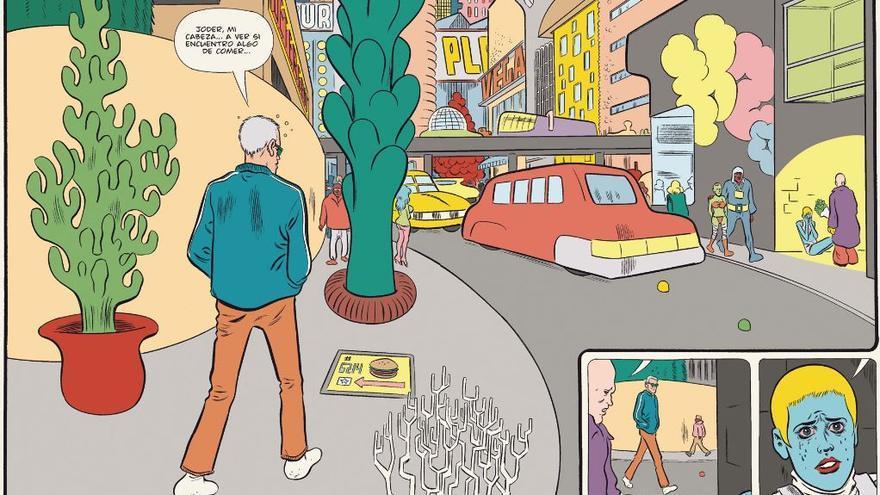 Viñetas de 'Paciencia'. Fulgencio Pimentel.