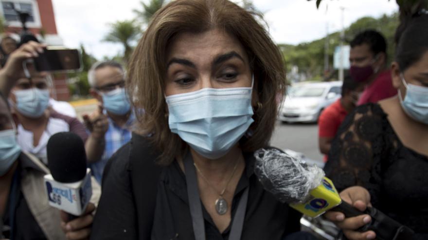"""Periodistas nicaragüenses denuncian un """"ataque"""" al periodismo en el caso Chamorro"""