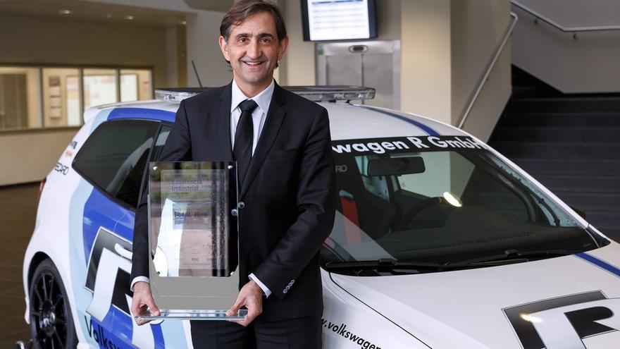 Volkswagen Navarra gana el Industrial Excellence Award a la Mejor Fábrica Europea de 2014