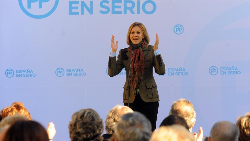 María Dolores de Cospedal en Talavera de la Reina / PP