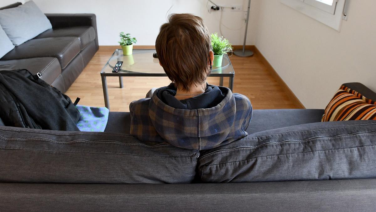 Pedro, en un piso tutelado con personas con transtornos alimentarios