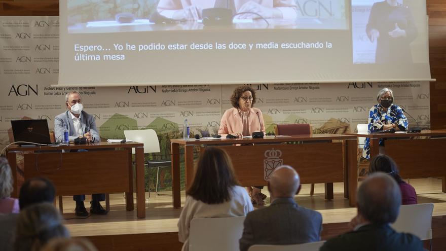 La consejera de Derechos Sociales, Carmen Maeztu, interviene en la jornada 'De las incapacitaciones a los apoyos para actuar en condiciones de igualdad'