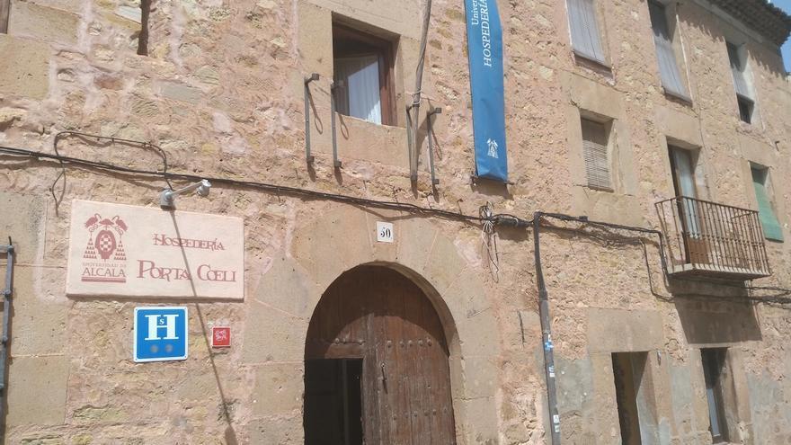 Hospedería Porta Coeli, en la ciudad seguntina FOTO: Raquel Gamo