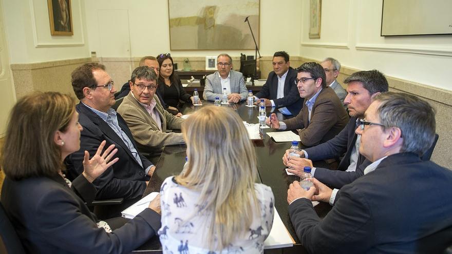 Imagen del encuentro de Innovall con Jorge Rodríguez