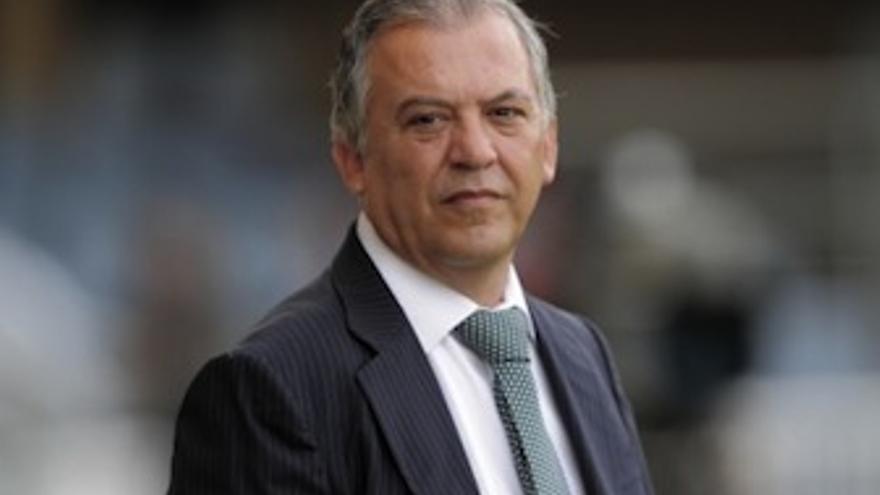 Juan Manuel Rodríguez, durante un partido de la presente temporada. (udlaspalmas.es)