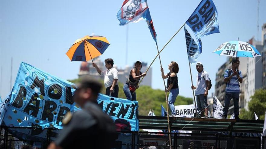 Suspenden la sesión sobre la reforma de pensiones en Argentina en medio de disturbios