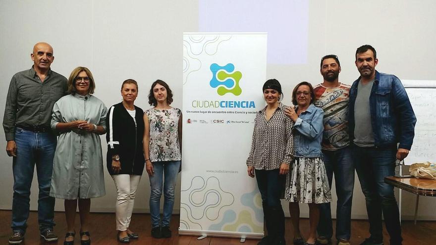 Imagen de participantes de las jornadas celebradas este jueves en Los Llanos