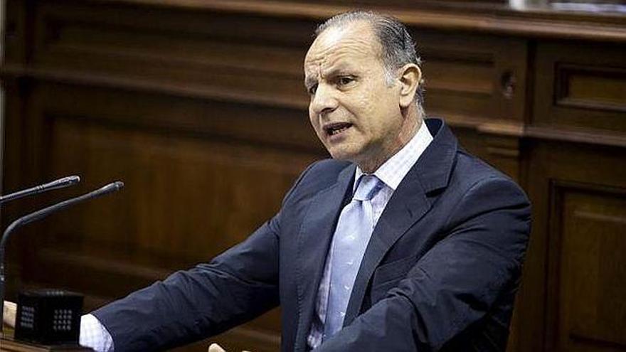 Jorge Rodríguez, diputado del PP en el Parlamento de Canarias.