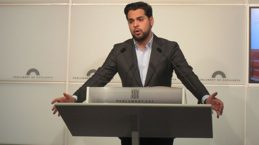 De Páramo (C's) critica que Errejón apoye la vía unilateral del Govern