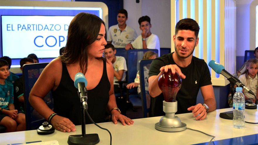 Marco Asensio juega a un Pasapalabra de reggaeton en El Partidazo de Juanma Castaño