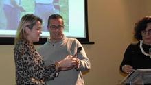 Entrega de premios en el Congreso Internacional de Sistemas Agrarios Tradicionales.