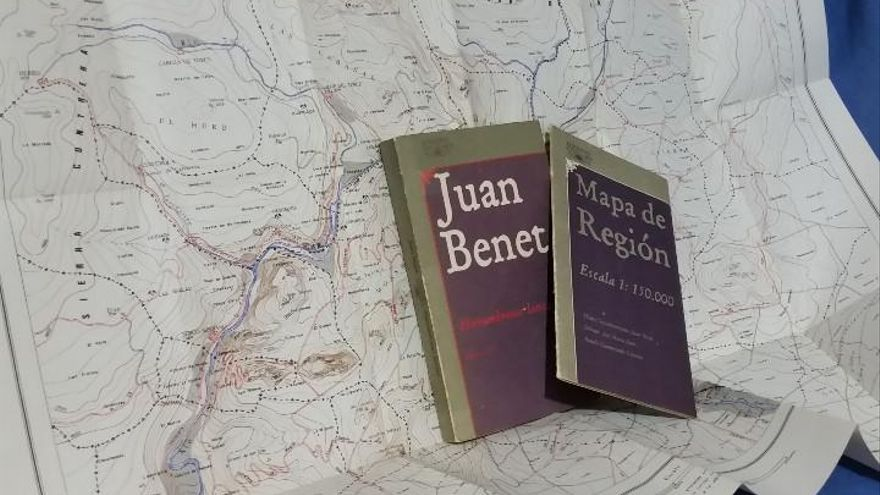 Mapa de Región editado por Alfaguara