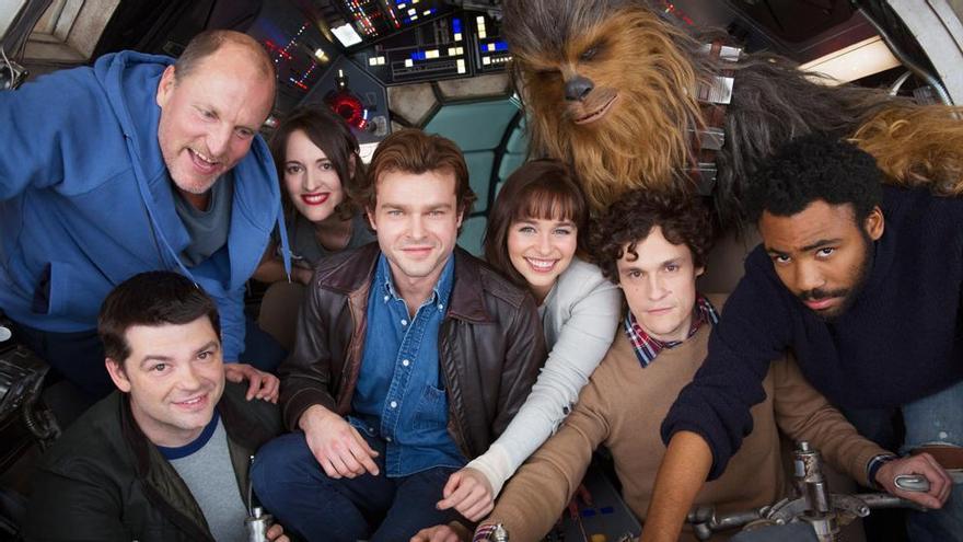 Primera imagen del reparto del 'spin-off' de Han Solo, Star Wars