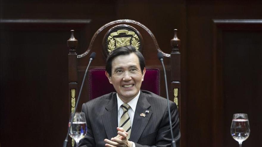 El presidente taiwanés rechaza objetivos electorales en su reunión con Xi