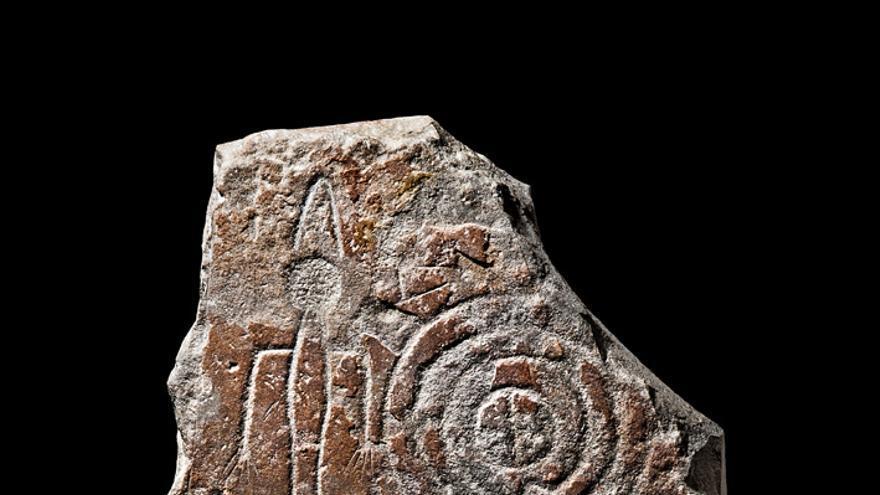 Estela encontrada en Las Herencias (Toledo)