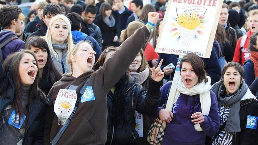 Más de la mitad de los jóvenes europeos se sienten excluidos por la crisis