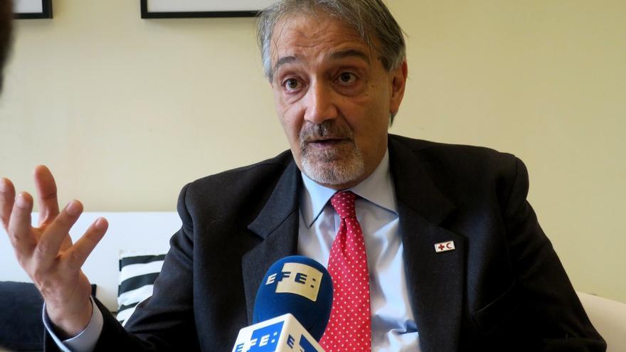 Francesco Rocca, presidente de la Federación Internacional de Sociedades de la Cruz Roja.