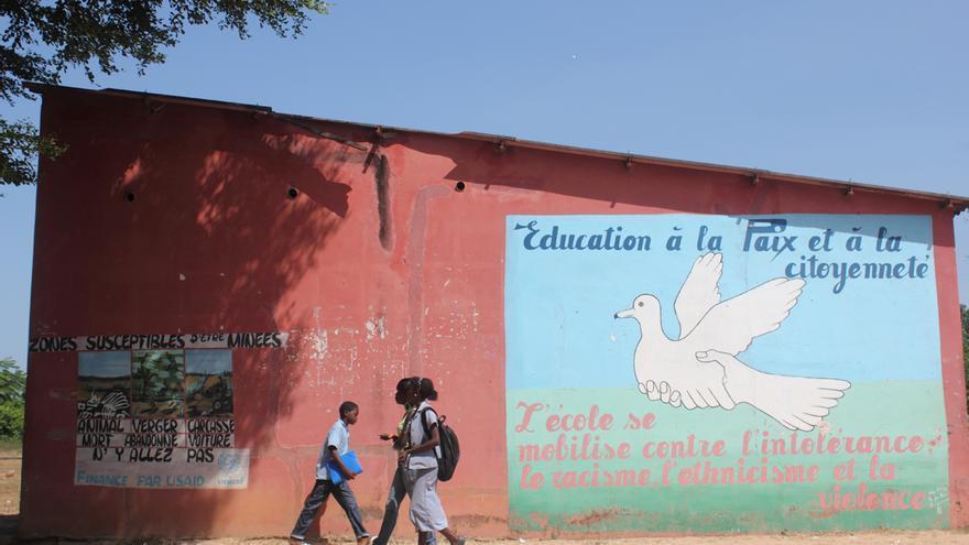 El documental estudia cómo una estructura tradicional puede funcionar para mantener la paz / Foto: cedida.