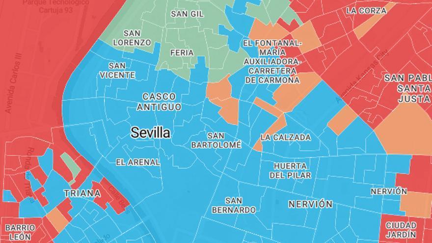 secciones censales andalucia