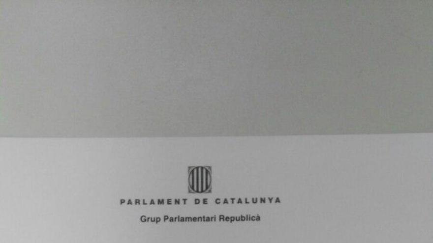 Solicitud de delegación de voto de Comín