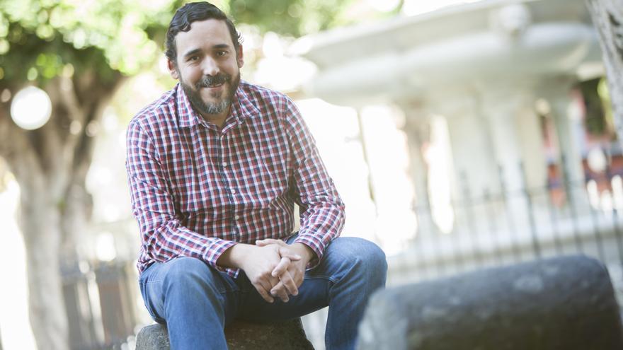Rubens Ascanio, candidato a la alcaldía de La Laguna por Unidas Se Puede, en una imagen de archivo
