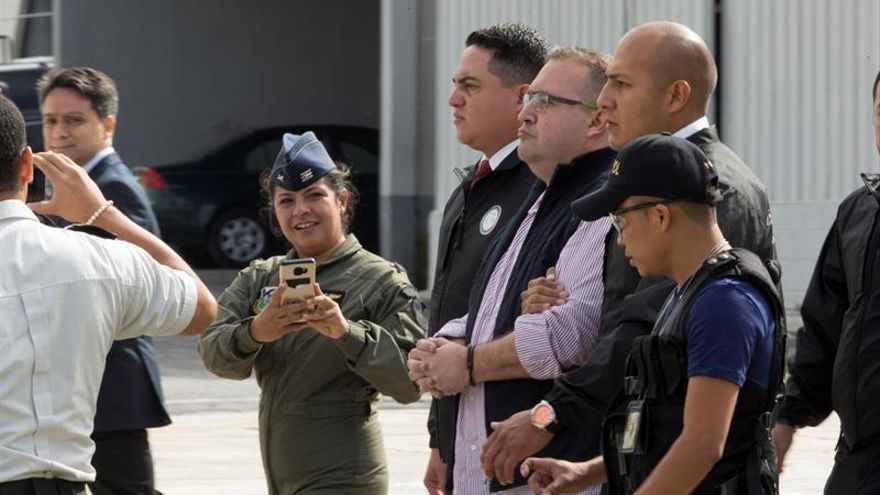 Guatemala entrega en extradición a México a Duarte, exgobernador de Veracruz