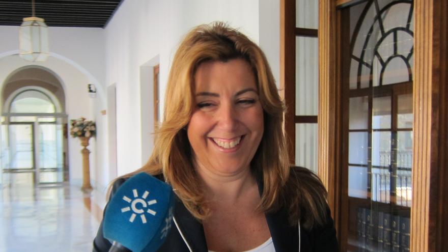 La consejera andaluza de Presidencia no se plantea presentarse a las primarias del PSOE