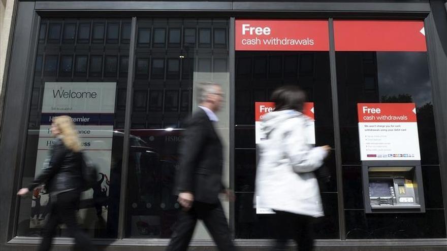 Sucursal del banco HSBC en Londres, Reino Unido. / Efe