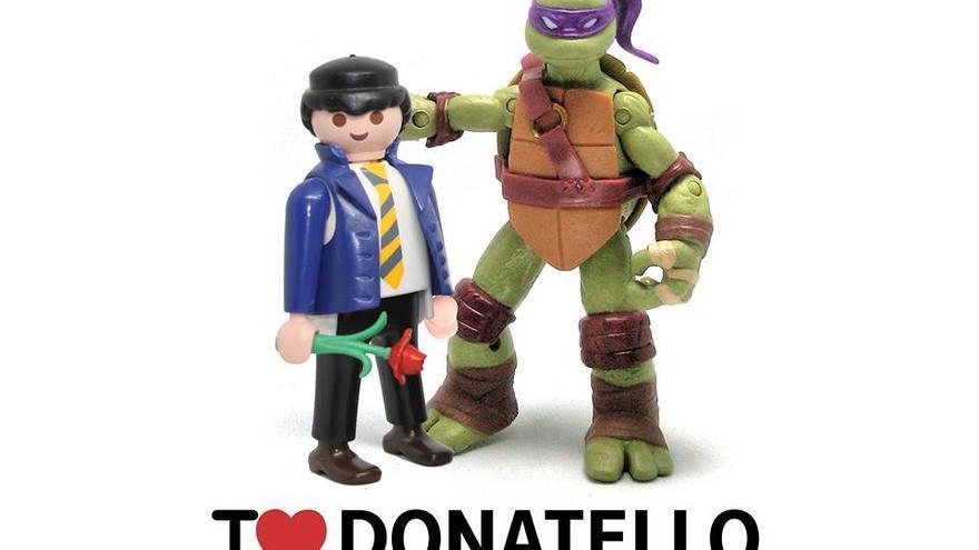 I love Donatello