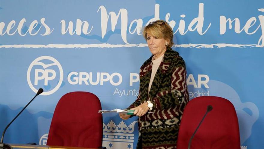 """CCOO pide la dimisión de Esperanza Aguirre para """"depurar responsabilidades"""""""