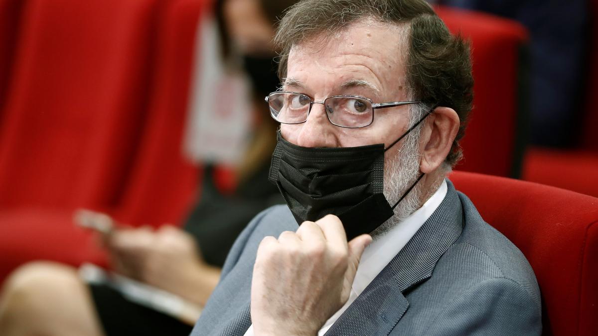 El expresidente del Gobierno Mariano Rajoy. EFE/Mariscal/Archivo