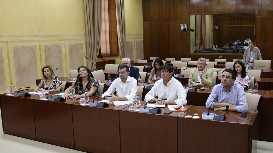 Constituido en el Parlamento andaluz el grupo de trabajo para abordar la financiación autonómica