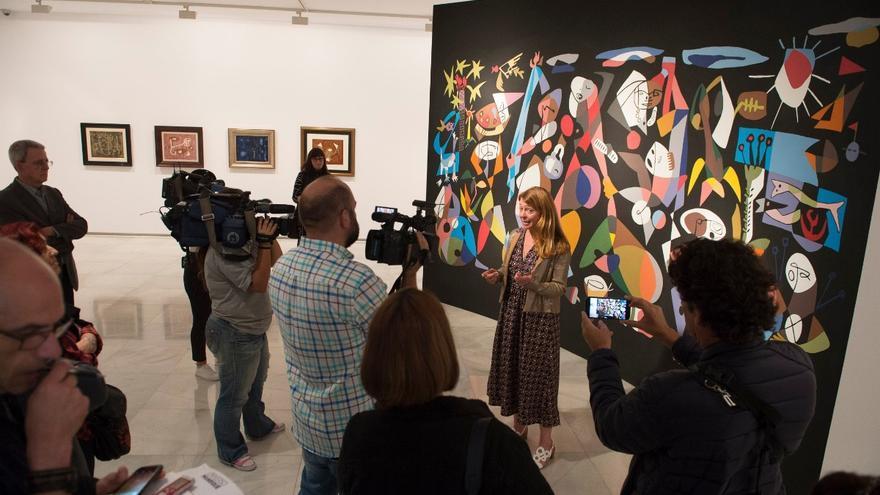 La comisaria de la exposición presenta la muestra sobre César Manrique en el CAAM