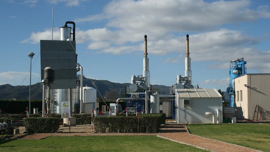 Planta de Cogeneración instalada en la Depuradora Murcia-Este