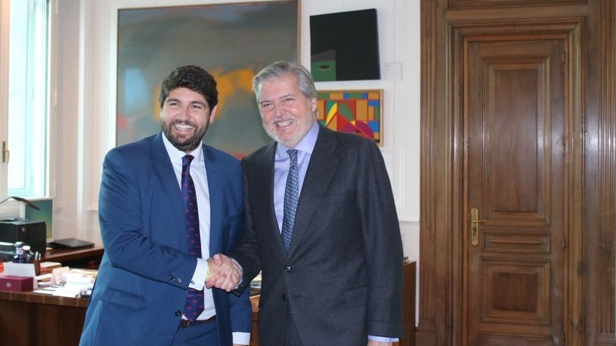 López Miras dice que Murcia coordinará a las Comunidades en el Año Europeo de Partrimonio Cultural