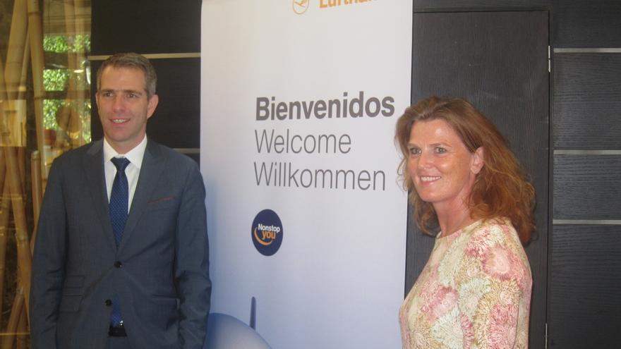 Lufthansa incrementa un 5% los pasajeros transportados en Bilbao durante el primer semestre, hasta los 222.000
