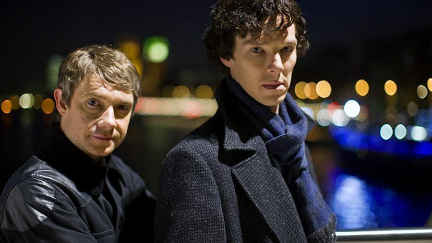 El papel que encumbró a Benedict fue el de Holmes en la serie Sherlock