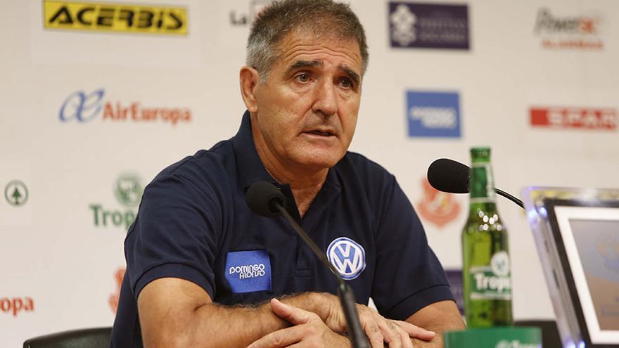 El entrenador de la UD Las Palmas, Paco Herrera, ha avisado del peligro que supondrá la visita del CD Leganés. (UD Las Palmas).