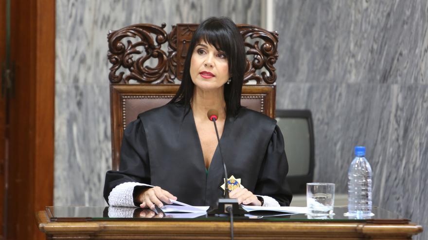 Toma de posesión en el TSJC como Secretaria del Gobierno de Eva María Hernández Burgos