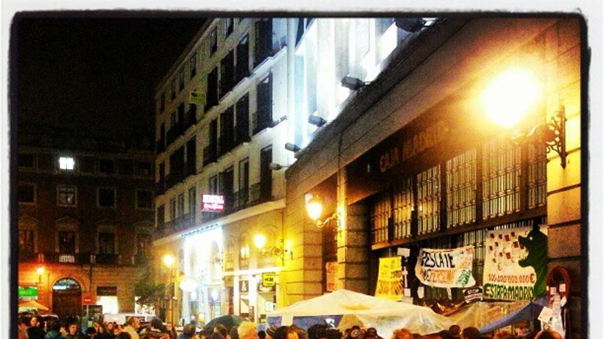 Mani #AcampadaBankia 9/9/2012 -- 1