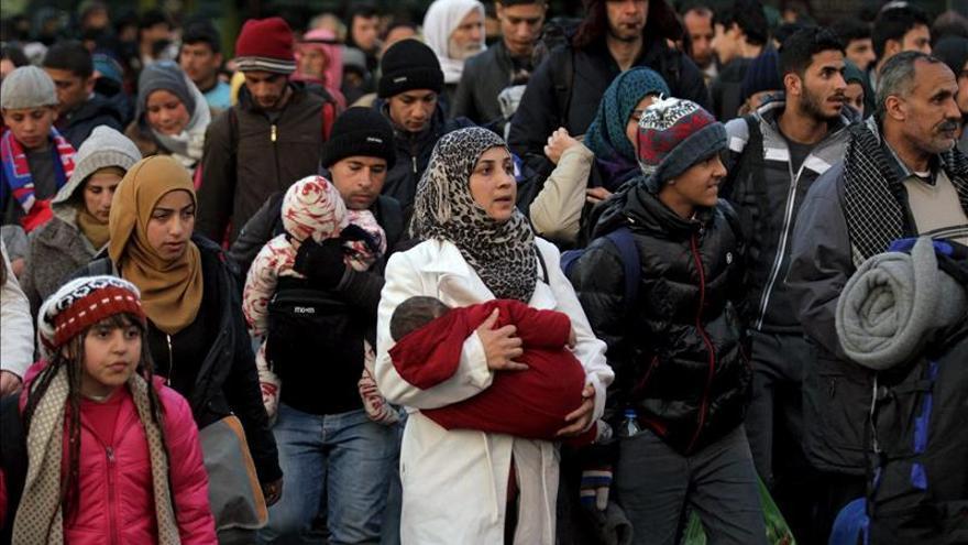 80.000 refugiados e inmigrantes llegaron a Europa en las 6 primeras semanas de 2016