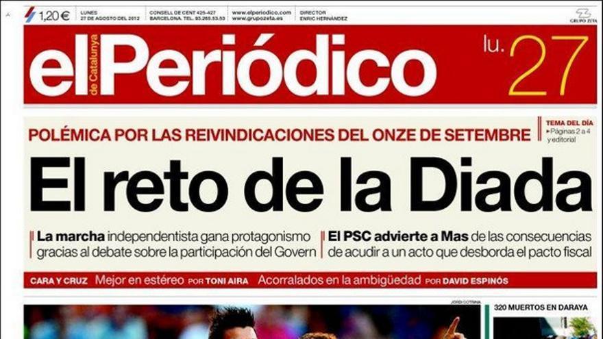 De las portadas del día (27/08/2012) #9