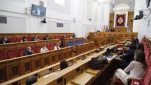 Pleno de las Cortes regionales FOTO: Cortes