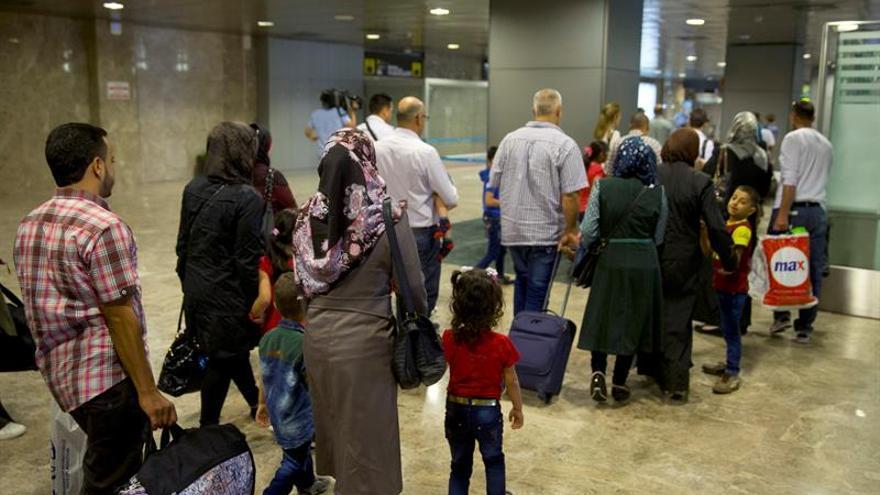 Con la última llegada de 198 refugiados, ya son 898 los acogidos por España