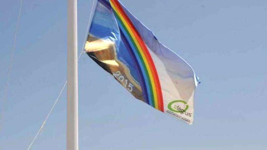 Las ocho playas de la ciudad renuevan la bandera Ecoplaya que reconoce la gestión ambiental